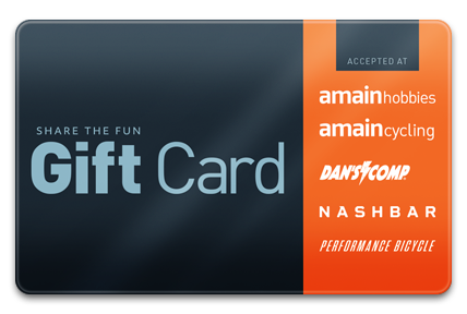 Performance Bike / AMain Hobbies Physical Gift Card
